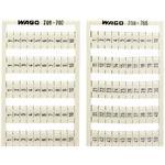 WAGO Kontakttechnik WSB-Bezeichnungssystem 209-701