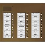 TCS Tür Control Audio Außenstation PUK 30 PUK30/3-EB