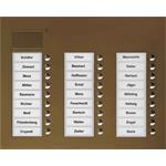 TCS Tür Control Audio Außenstation PUK 27 PUK27/3-EB