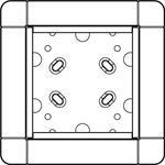 Ritto Portier UP-Rahmen si 1 8811/20