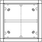 Ritto Portier AP-Rahmen gr/br 1 8835/50