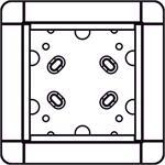 Ritto AP-Rahmen 1883199