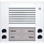 TCS Tür Control Audioaußenstation 2-reihig PES04-WS/04