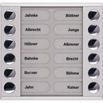 TCS Tür Control Audioaußenstation 2-reihig PET12-EN/04