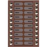 TCS Tür Control Audioaußenstation 2-reihig PET20-EB/04