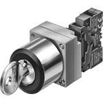 Siemens Komplettgerät rund Leuchtd 3SB3606-0AA51