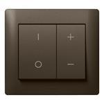 Legrand 771286 Wippe Phasentastdimmer 400W/600W Galea dark bronze