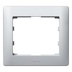 Legrand 771301 Rahmen 1-fach Galea soft aluminium