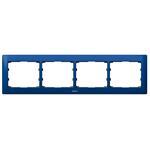 Legrand 771914 Rahmen 4-fach waagerecht Galea magic blue
