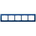Legrand 771915 Rahmen 5-fach waagerecht Galea magic blue