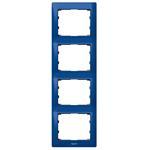 Legrand 771918 Rahmen 4-fach senkrecht Galea magic blue