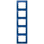 Legrand 771919 Rahmen 5-fach senkrecht Galea magic blue