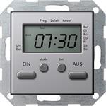 Gira Zeitschaltuhr alu 0385203