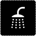 Busch-Jaeger Piktogramm Bad/Dusche für 2144/46-19