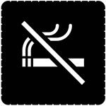 Busch-Jaeger Piktogramm Rauchen verbot. 2144/47-19