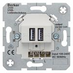 Berker USB Ladesteckdose 230V 260009