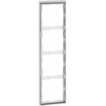 Peha Rahmen 4-fach alu chr D 95.574.70.60