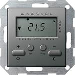 Gira RT-Regler 230 V mit Uhr 237020
