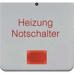Berker Wippe Heizung Notschalter 170809