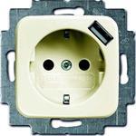 Busch-Jaeger Schuko/USB-Steckdose 20 EUCBUSB-212