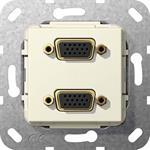 Gira VGA 2fach Gender Changer 565401