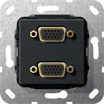 Gira VGA 2fach Gender Changer 565410