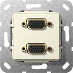 Gira VGA 2fach Kabelpeitsche 565501