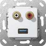 Gira UP Tragring USB CinchAudio 569103