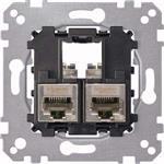 Merten Tragplatte 2fach MEG4575-0012