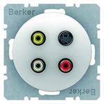 Berker Cinch/S-Video-Dose pows/gl 3315322089
