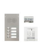 Legrand 904243 Sprechanlagenpaket mit Edelstahl-Audiotürstation 2