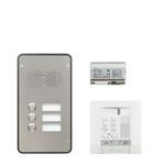 Legrand 904258 Sprechanlagenpaket mit Edelstahl-Audiotürstation 2
