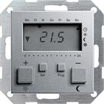 Gira RT-Regler 230 V mit Uhr 237026