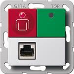 Gira Ruf-/Abstelltaster Nebenst 290303
