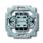 Busch-Jaeger Wechselschalter-Einsatz 2000/6/2 US