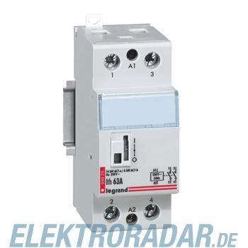 Legrand 4075 Schuetz 230V 63A 2 Schliesser Lexic Legrand