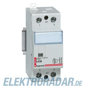 Legrand 4095 Schuetz 230V 63A 2 Schliesser ohne Handschalter Le