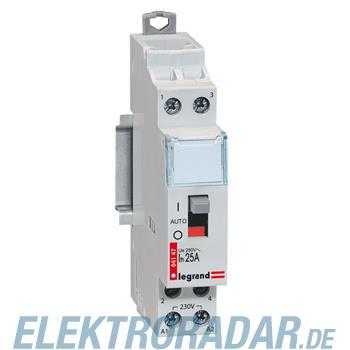 Legrand 4147 Schuetz 230V 25A 2 Schliesser Lexic Legrand mit Ha