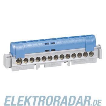 Legrand 4844 Klemmenleiste 25 mm² 12 x 16 mm² blau