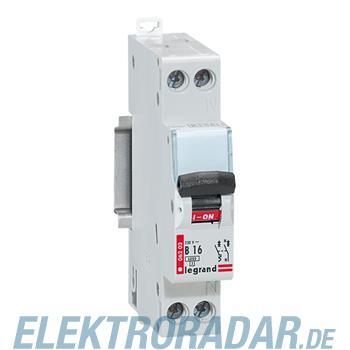 Legrand 6202 Leitungsschutzschalter B 16A 1-polig+N 6kA 1-modul