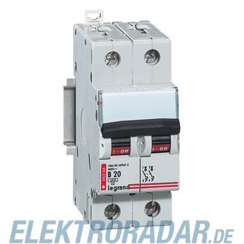 Legrand 6266 Leitungsschutzschalter B 20A 2-polig 6kA