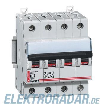 Legrand 6358 Leitungsschutzschalter B 25A 4-polig 6kA