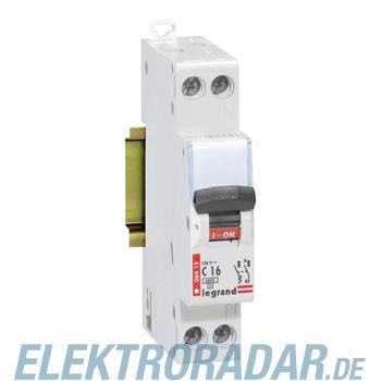Legrand 6412 Leitungsschutzschalter C 16A 1-polig+N 6kA 1-modul