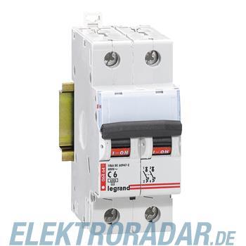 Legrand 6461 Leitungsschutzschalter C 2A 2-polig 6kA