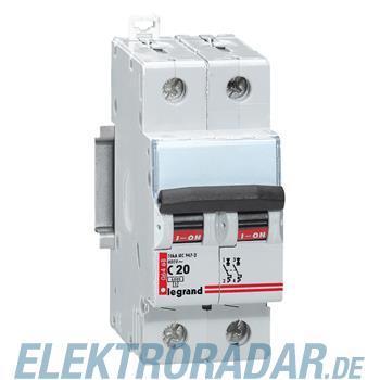 Legrand 6469 Leitungsschutzschalter C 20A 2-polig 6kA
