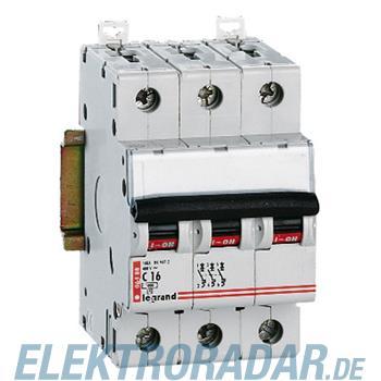 Legrand 6481 Leitungsschutzschalter C 2A 3-polig 6kA