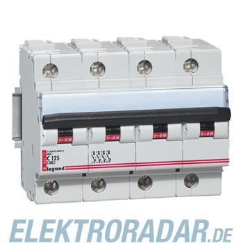 Legrand 6572 Leitungsschutzschalter C 125 A 4-polig 10 kA