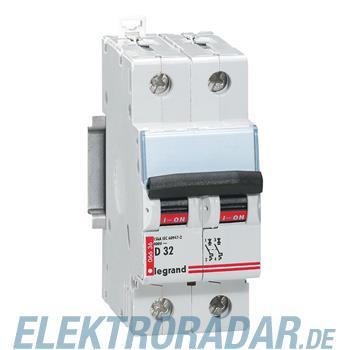 Legrand 6634 Leitungsschutzschalter D 20A 2-polig 6kA