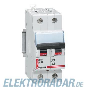 Legrand 6639 Leitungsschutzschalter D 63A 2-polig 6kA