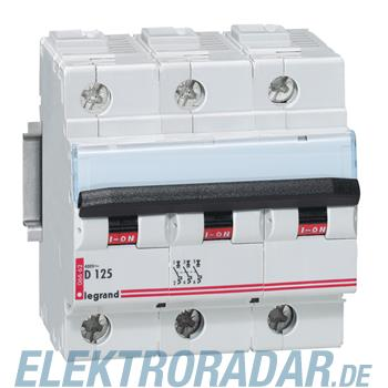 Legrand 6662 Leitungsschutzschalter D 125 A 3-polig 10 kA